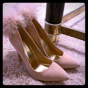 Charlotte Russe Pom Pom pumps 💖